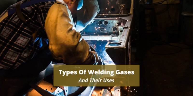 Types of welding gases